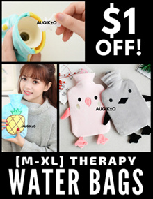 [ GET $1 OFF! ]  PREMIUM QUALITY  🐤  M-XL Rubber Therapy Water Bags  🐰  For fever cramp ache cold