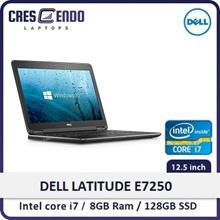 [Refurbished] Dell E7250/E7270 FHD Laptop w/ Webcam Intel i7-5th Gen/ 8GB RAM/ 128GB SSD