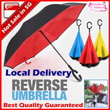 Magic Umbrella/UV light Super Large Reverse Umbrella/Nano/Anti-UV Coating/511 Tactical Umbrella