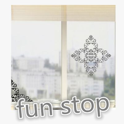 Qoo10 Cermin Stiker Kaca Ditempelkan Renda Kisi Kisi Rasa Alami