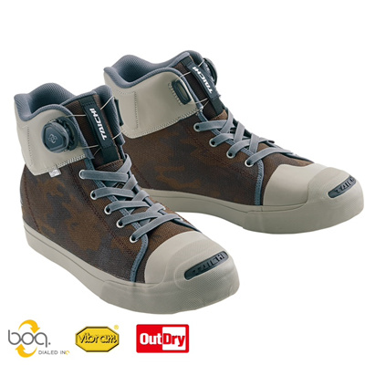 RS Taichi RSS009 out dry boa riding shoes camouflage 23.5cm shoes boots
