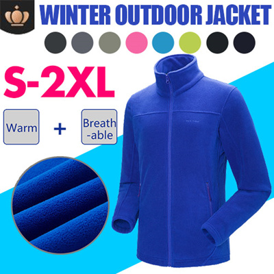 S-2XL Outdoor Jacket Women Warm Winter 100% Polyester Bodkin Fleece Camping 26ab6ec2d4