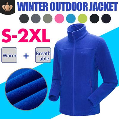 S-2XL Outdoor Jacket Women Warm Winter 100% Polyester Bodkin Fleece Camping ecb6a04f22