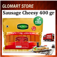 Sosis Fronte Beef Sausage Cheesy 400 gr ( FREE SHIPPING JABODETABEK )