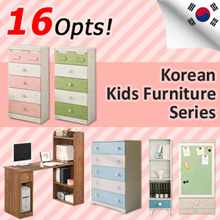 [BLMG_SG] MADE IN KOREA! Kids Furniture★Scandinavian Storage★Cabinet★Desk★5Tier★Stduent★chest