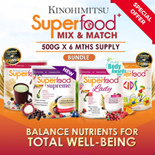 [6MTH SUPPLY] Superfood Series 500g x 6 tins [22 Multigrains Nutritious Drink for your whole family]