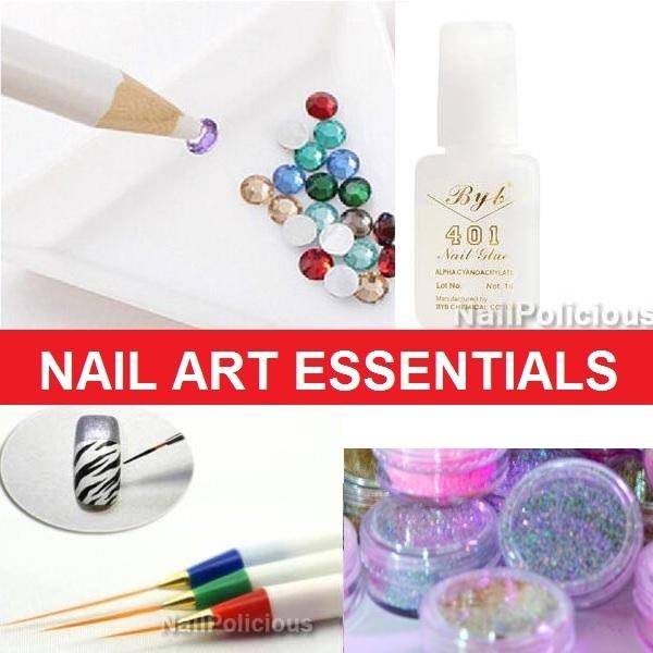 Qoo10 Nail Art Essentials Glitter Powder Nail Polish Remover Pen Opi Diet Styling