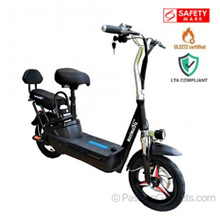 ♥Local Seller♥ LTA Approved UL2272♥ PMD-F-07 Certified Seated Electric Scooter ★Child Seat★