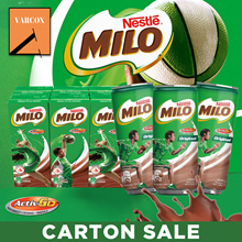 Milo Carton Sales - Long Expiry