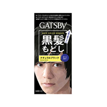 GATSBY HAIR COLOR REMAKE NATURAL BLACK 1S