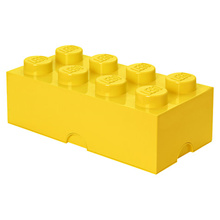 LEGO 8 - Stud Storage Brick - YELLOW (LS-40041732)