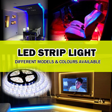★[Local Seller with Shop ]5050 LED Strip Light/Cove Lights/ 1-5  Meters Available