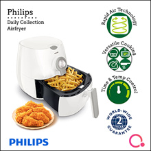 Philips: Daily Collection Airfryer with Rapid Air technology HD9216/81