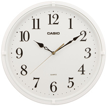 Casio Interior Analog Wall Clock White(IQ-88-7JF) / Black(IQ-88-1JF) ★Direct from Japan★