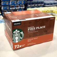 Starbucks Pike Place Curie Capsules 72 Pack