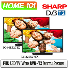 SHARP FHD LED TV with DVB-T2 Digital System[LC-32LE275X][LC-40LE275X]