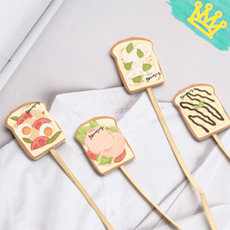 MAGNETIC BOOKMARK TOAST BREAD STATIONERY GOODIE BAG CHRISTMAS