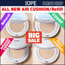 ★IOPE★ NEW! ALL NEW AIR CUSHION + Refill /Intense cover / Natural / Matt Longwear