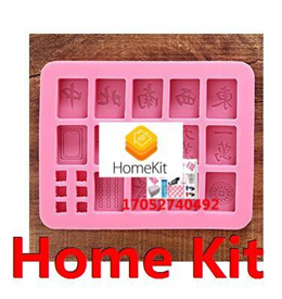 Singapore DIY baking mold Silicone cake mould Mahjong Chocolate Mould