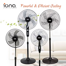 IONA Cooling Stand Fan Series. Reliable powerful and efficient (Ideal for home and office)