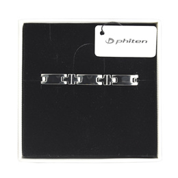 ★FREE SHIPPING★ phiten Titanium Bracelet Hard Coating Slim and Wide! Directly Shipped from Japan!