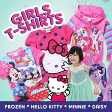 Disney T-shirt/ Frozen dress/ Hello Kitty/ Minnie/ Daisy Party Dress *Lowest price in Q10