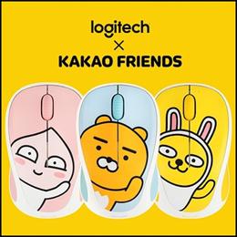 [Logitech] M238 / Wireless Mouse Mice / Kakao Friends Muzi Ryan Apeach / Gift / mini