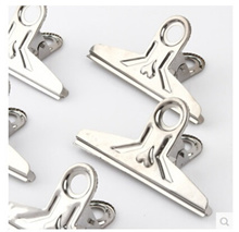 10/set Men clip big iron clamps ticket office lady single E8749 household metal clip