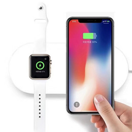 Wireless Charger for iPhone X 8 Plus Apple Watch USB Charging Pad Samsung Galaxy S8 9 Plus