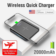 Ultra thin Mini charging treasure、 10000Ma 、20000 Ma 、wireless charging