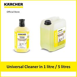 Karcher Universal Cleaner 3 in 1 detergent in 1 litre or 5 litres
