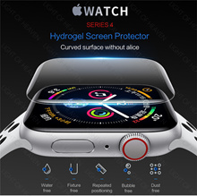 Apple watch series 4 3 2 screen protector hydrogel film for iwatch 42mm 38mm rock original case