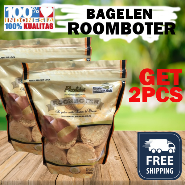 (GET 2 PCS) BAGELEN ROOMBOTER / FREE SHIPPING JABODETABEK Deals for only Rp50.900 instead of Rp50.900