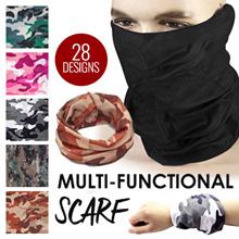 Bandana/ Buff / Multi Function Scarf/ Head Neck Wear/ Outdoor scarf/ Biker face mask