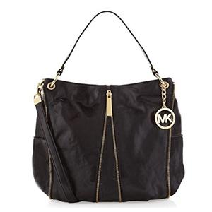 76dff5b50252 [MICHAEL MICHAEL KORS] B00TF6E2KY - Newman Large Shoulder Tote Handbags -  Black