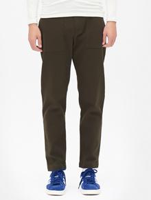 8SECONDS Cotton Pocket Detil Baggy Fit Pants - Khaki