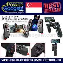 ★SG Local Seller★iPega PG-9057 PG-9055  Wireless Bluetooth Game Controller PUBG Mobile Legend