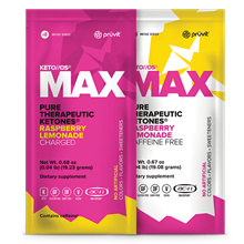 Pruvit KETO OS MAX Raspberry Lemonade CHARGED Weight Loss Ketogenic Supplement Local Seller 20S