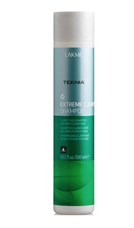 LAKME TEKNIA Extreme Cleanse refreshes and removes styling product build-up and hard water mineral r