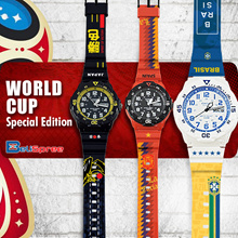 ▶ CASIO SERIES WORLD CUP 2018 WATCH SPECIAL EDITION◀ World Cup Watch Special Design customisation
