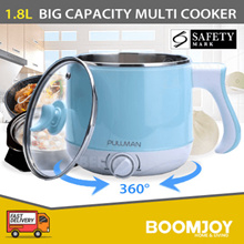 [▼-69%] PULLMAN ELECTRIC COOKER (SKY BLUE) | SAFETY MARK | SINGAPORE SET