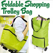 [HARGA MURAH]**Foldable Trolley Shopping Bag | Tas Trolley Belanja Multifungsi**