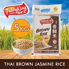 PaddyKing Thai Brown Jasmine Rice 5Kg