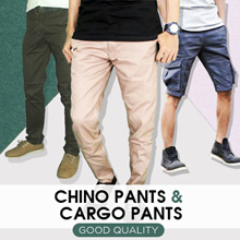 NEW COLLECTION - Chino Pants and Cargo Pants - Casual Pants - Good Quality