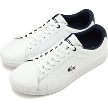 [Japan genuine] Lacoste LACOSTE Women's car navigation Ebo WHT / NVY / RED white series [SFA016-407 SS19]