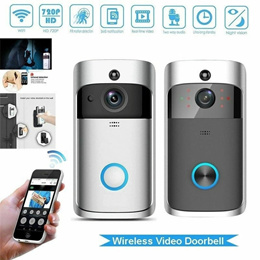 WiFi Wireless Video Doorbell Two-Way Talk Smart PIR Door Bell Security Camera  APP Control