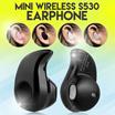 Mini Wireless S530 Earphone Bluetooth V4.0 Stereo Sport Headset with Microphone