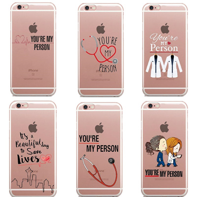 998aad271a6 wholesale Greys Anatomy You are my person Phone Cases Cover For iPhone SE  5S 6 6S