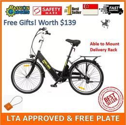 ★SG Seller★LTA Compliant Zebra Electric Bicycle EBike aka Hotebike
